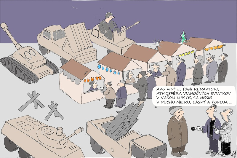 Karikatúra Mira Havlíčka Karikatúra Mira Havlíčka