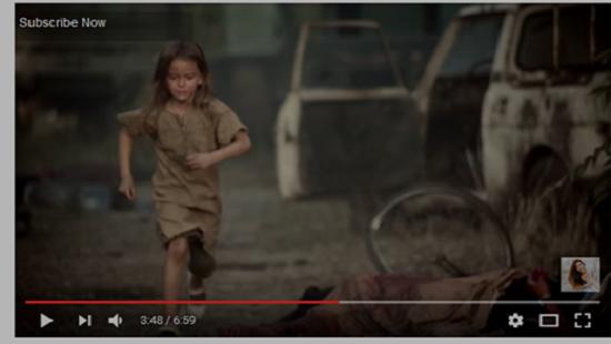 7 ročná Sýrčanka Bana Alabedova