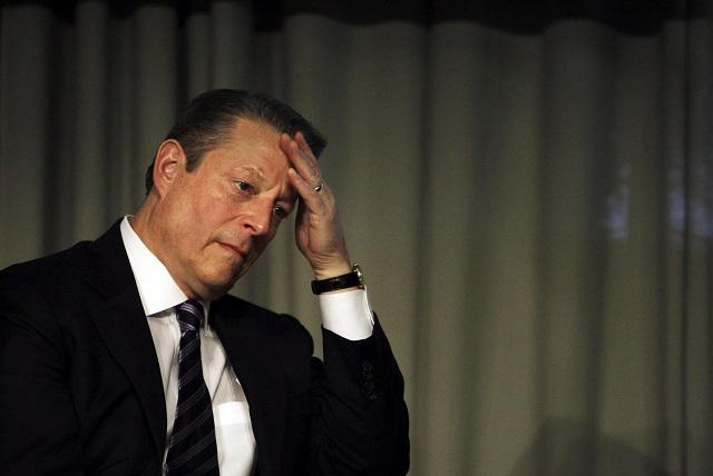 Na archívnej snímke americký exviceprezident Al Gore