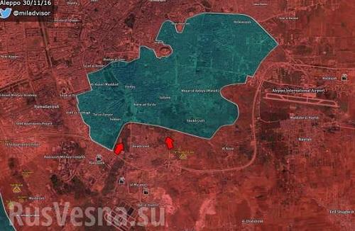 Sýrska armáda oslobodila v Aleppe  ďalšiu štvrť