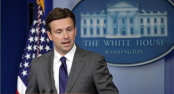 Joshua Earnest, tlačový sekretár Bieleho Domu