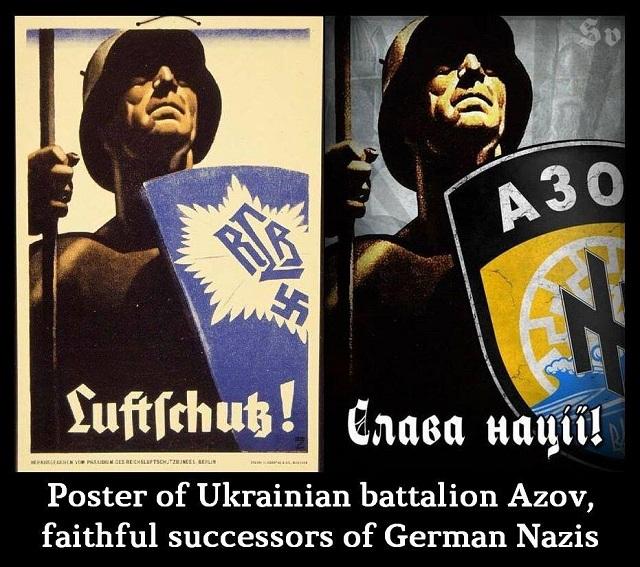 Nacistický batalión Azov sa pripravuje k štátnemu prevratu na Ukrajine