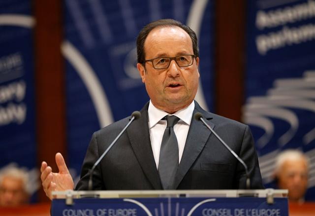 Na snímku francouzský prezident Francois Hollande Foto: Jean-Francois Badi