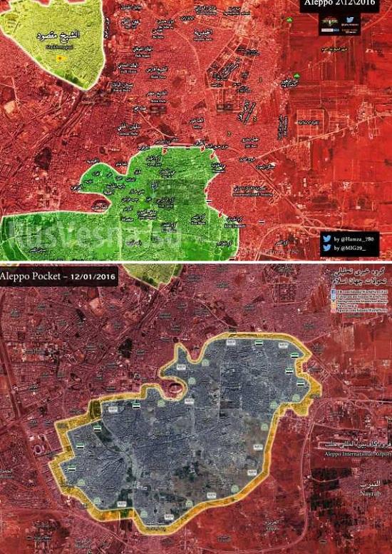 Tigri likvidujú teroristov v Aleppe