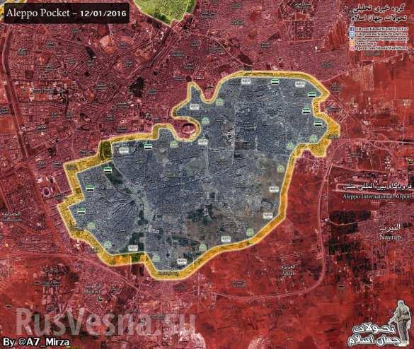 Sýrska armáda útočí v Aleppe, bandy sa preskupujú