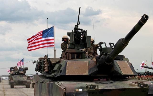 Na ilustračnej snímke americký tank
