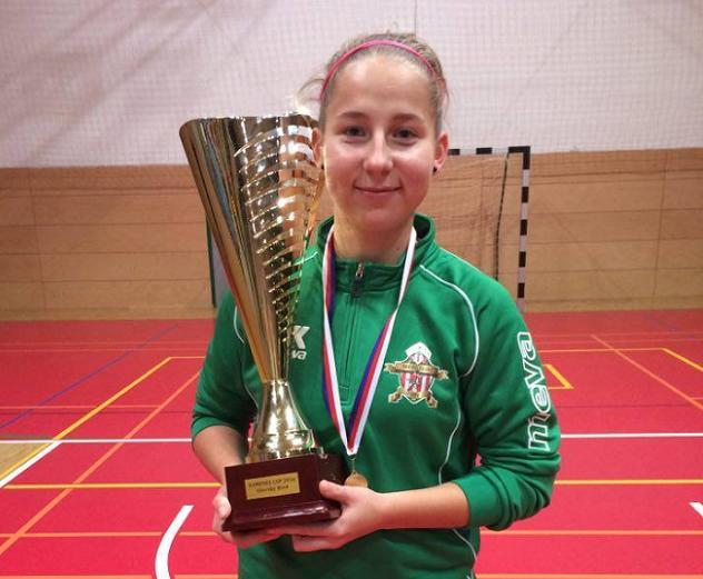 Najlepšou hráčkou Žiliny na tomto turnaji bola organizátormi vyhlásená Veronika Sluková, ktorá obdržala aj pekný pohár ako upomienkovú cenu