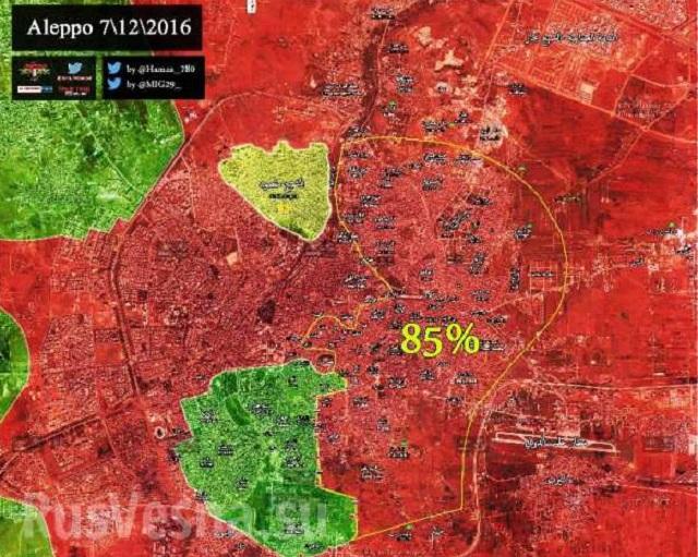 Boje o Aleppe pokračujú