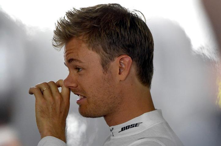 Na snímke nemecký jazdec tímu Mercedes AMG Nico Rosberg