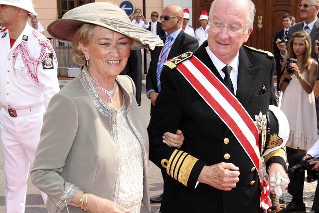 Belgický kráľ Albert II. a belgická kráľovná Paola
