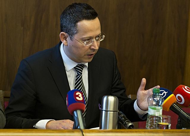 Predseda finančného výboru Ladislav Kamenický
