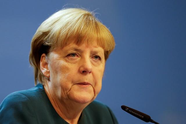 Na snímke Angela Merkelová