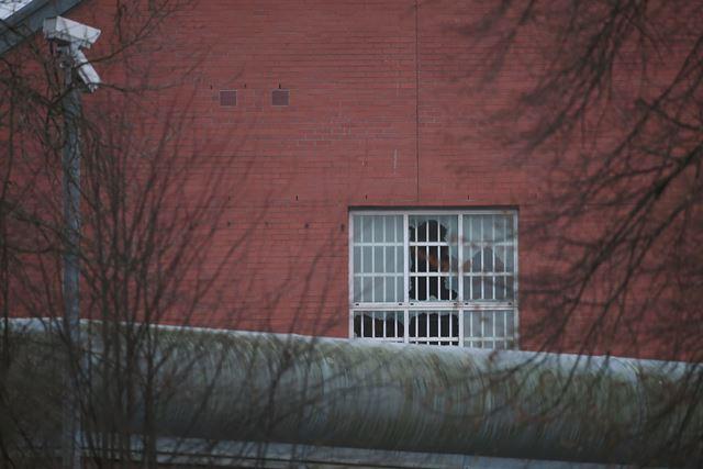 Na snímke budova väzenia v Birminghame, kde došlo k vzbure
