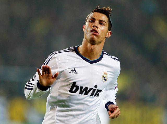 Na snímke Christiano Ronaldo