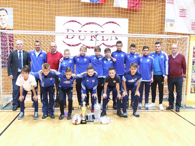 Na snímke futbalová mládež ŠK Slovan Bratislava