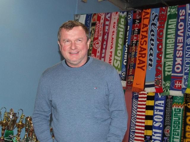 Na snímke známy český tréner Pavel Vrba