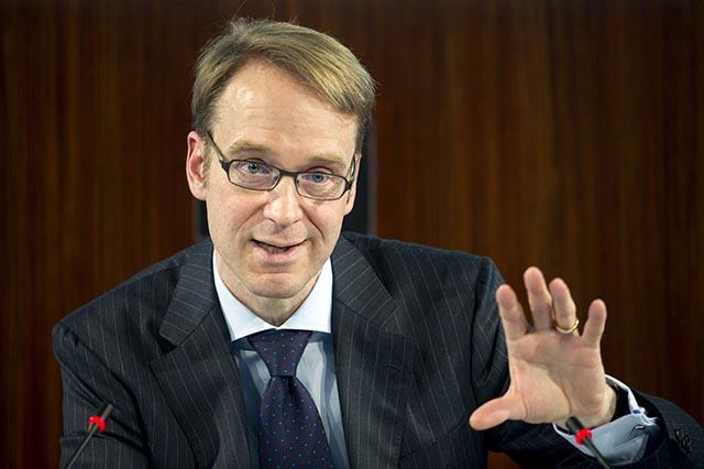 Na snímke šéf nemeckej centrálnej banky Jens Wiedmann.