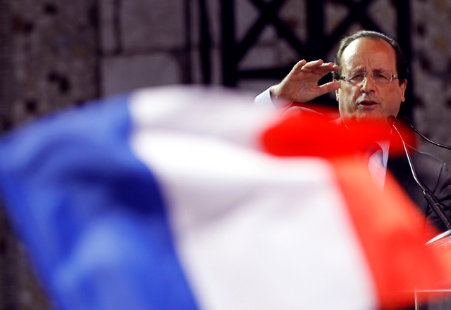 Na snímke Francois Hollande