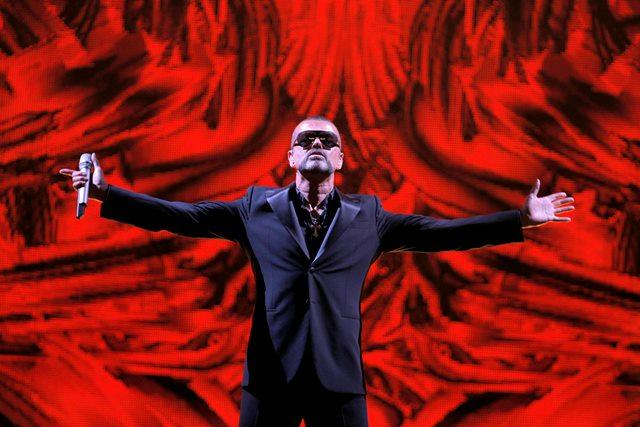 Na snímke George Michael