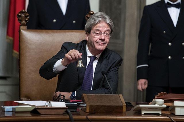 Dezignovaný taliansky premiér Paolo Gentiloni