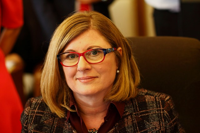 Na snímke ministerka pôdohospodárstva a rozvoja vidieka SR Gabriela Matečná