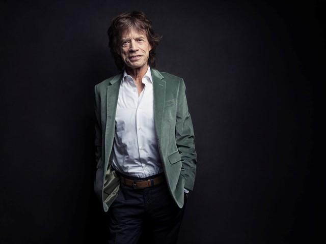 Na snímke spevák a líder britskej hudobnej skupiny The Rolling Stones Mick Jagger
