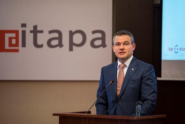 Na snímke podpredseda vlády SR pre investície a informatizáciu Peter Pellegrini