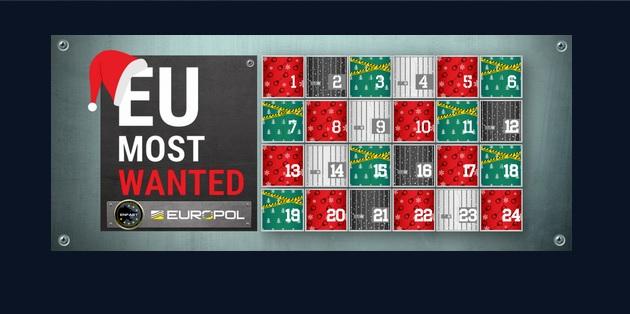 Adventný kalendár Europolu