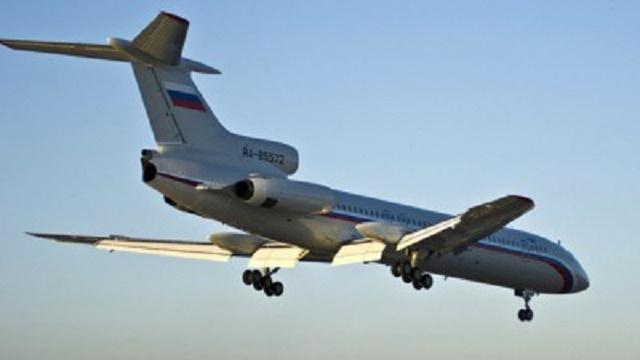 Ruské lietadlo Tu-154