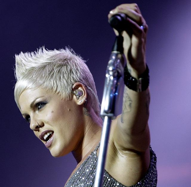 Americká speváčka Pink