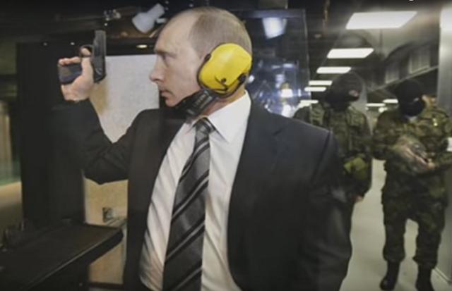 Na videosnímke ruský prezident Vladimir Putin