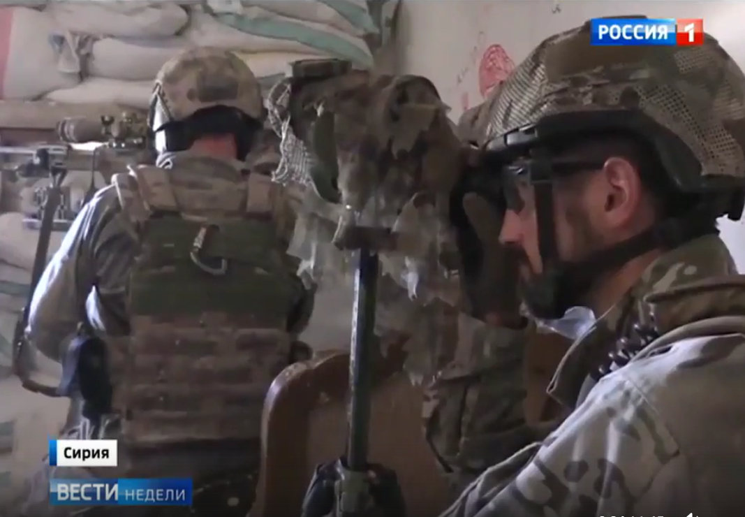 Ruský SPECNAZ v Sýrii