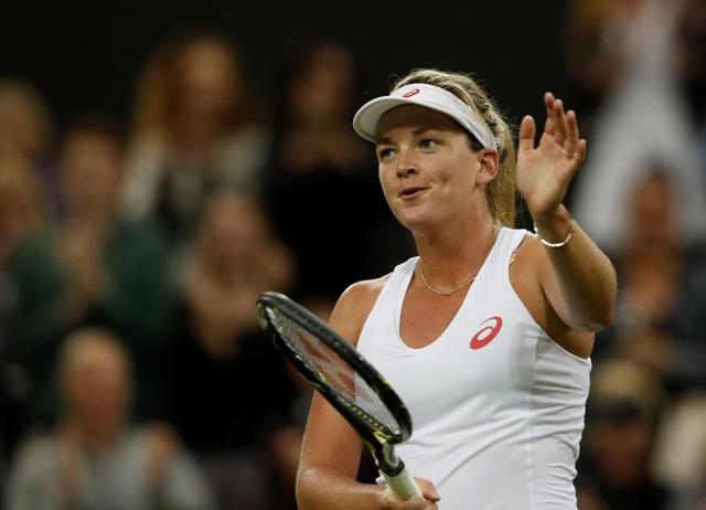 Na snímke americká tenistka Coco Vandewegheová