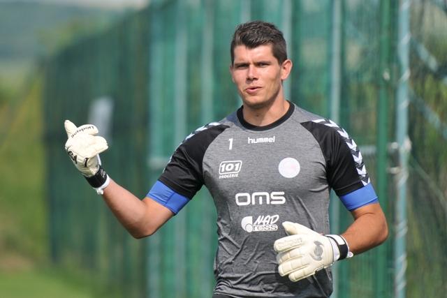 Na snímke brankár FK Senica Michal Šulla
