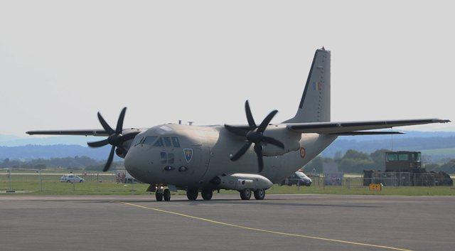Ilustračné foto: lietadlo C-27J Spartan