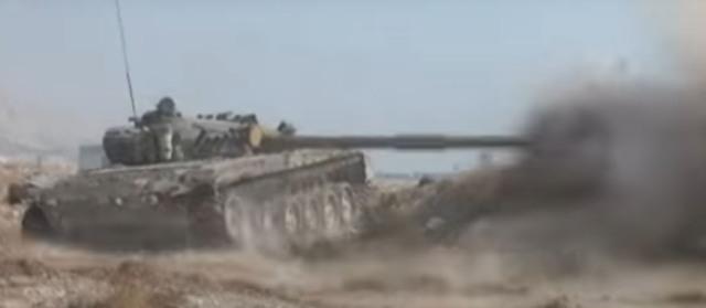 SAA ofenzíva v západnej časti Damasku pokračuje
