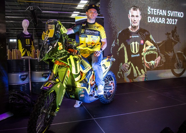Na snímke slovenský motocyklový pretekár Štefan Svitko