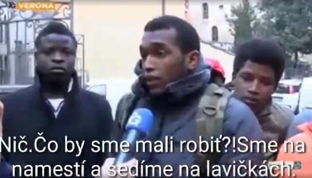 Utečenci vo videu tvrdia, že im je v Taliansku naozaj zle