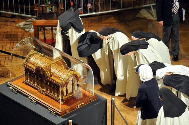 Relikvie sv. Terézie z Lisieux