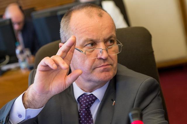 Na snímke minister obrany Peter Gajdoš