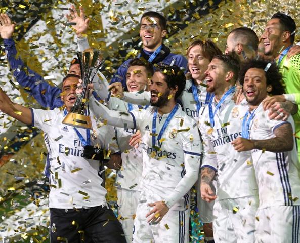 Ilustračné foto: Futbalisti Realu Madrid