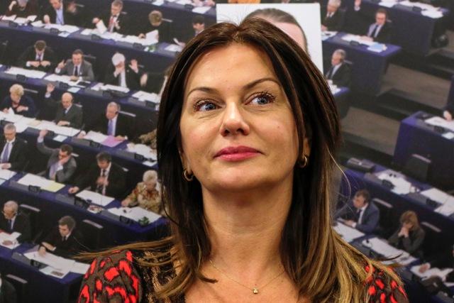 Na snímke europoslanyňa Monika Flašíková-Beňová