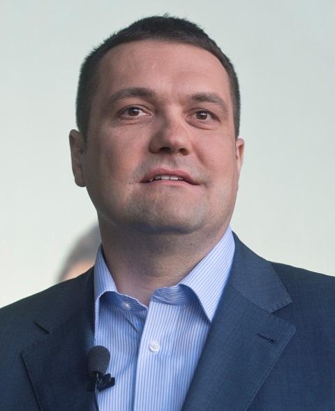 Na snímke predseda Šance Viliam Novotný