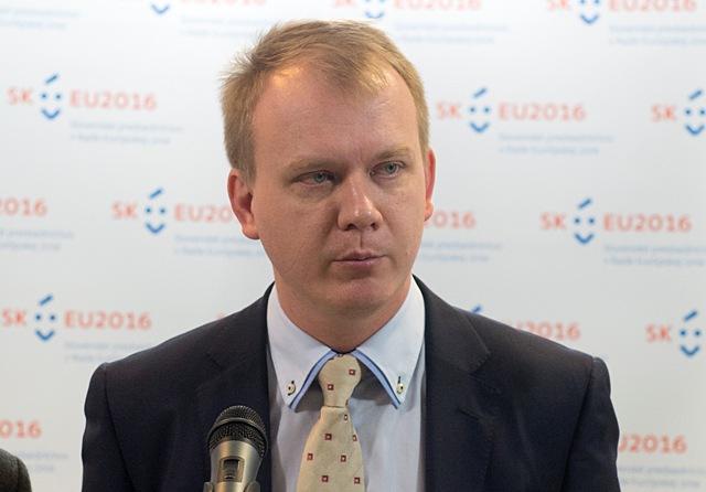 Na snímke opozičný poslanec Miroslav Beblavý (nezaradený)