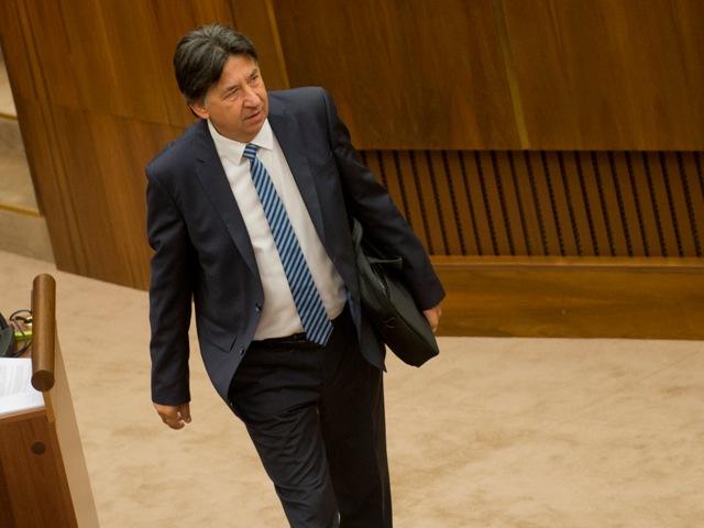 Na snímke poslanec OĽaNO-NOVA Ján Budaj