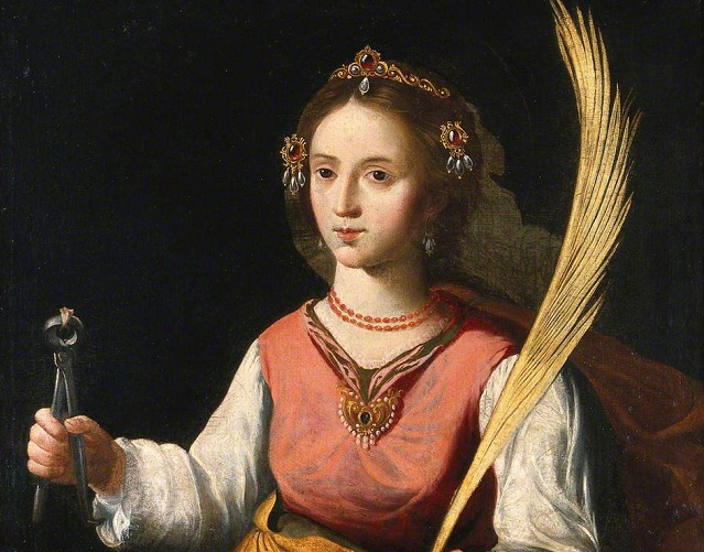 Svätá Apolónia, panna a mučenica