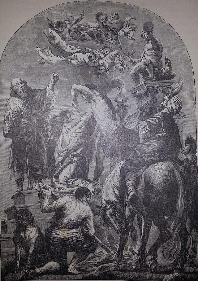 Martýrium svätej Apolónie