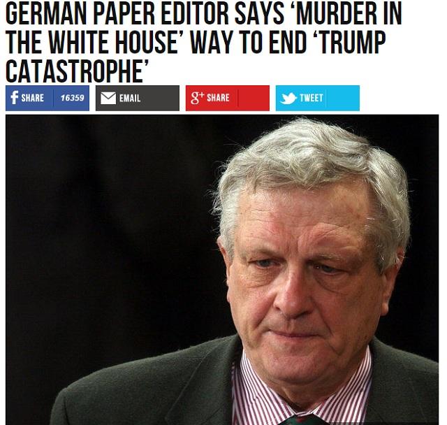 """Redaktor z Die Zeit: """"Vražda v Bielom Dome"""" by bola riešením """"Trumpovej katastrofy"""""""