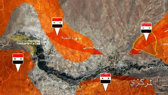 Dolina smrti: sýrske vládne jednotky a ich nasadenie vo Vádí Barada