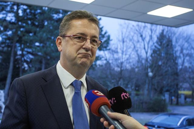 Na snímke podpredseda Národnej rady SR a predseda poslaneckého klubu Smeru-SD Martin Glváč
